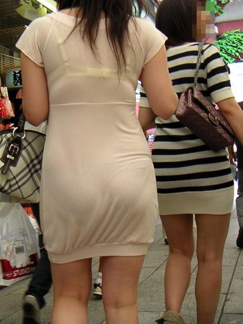 【透けパンツエロ画像】清楚なお嬢さんのスカートやズボンからパンティーが透けて丸見えよりも卑猥に見える透けパンツのエロ画像集!ww【80枚】 37