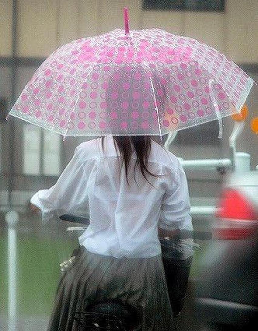 【濡れ透け下着エロ画像】シャワーや豪雨で下着まで透けて陰毛や乳首が丸見えになってる濡れ透け下着のエロ画像集!ww【80枚】 58