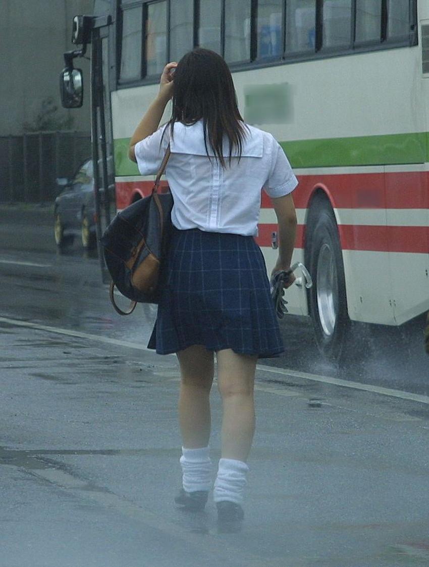 【濡れ透け下着エロ画像】シャワーや豪雨で下着まで透けて陰毛や乳首が丸見えになってる濡れ透け下着のエロ画像集!ww【80枚】 59