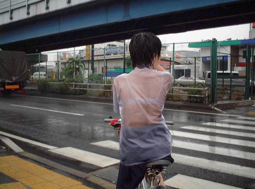 【濡れ透け下着エロ画像】シャワーや豪雨で下着まで透けて陰毛や乳首が丸見えになってる濡れ透け下着のエロ画像集!ww【80枚】 78