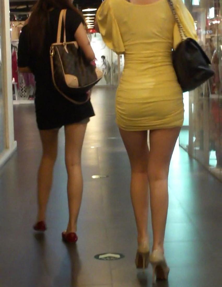【ミニスカワンピエロ画像】ミニスカワンピ女子のパンチラを覗いたり服の中に手を突っ込み着衣セックスしてるミニスカワンピのエロ画像集!ww【80枚】 10