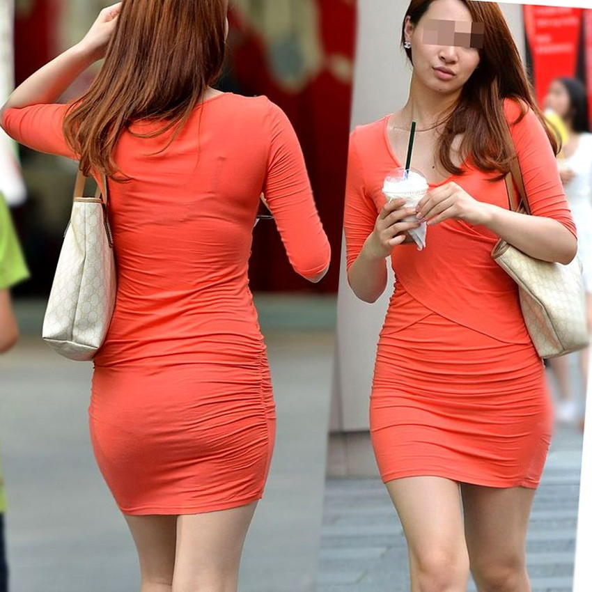 【ミニスカワンピエロ画像】ミニスカワンピ女子のパンチラを覗いたり服の中に手を突っ込み着衣セックスしてるミニスカワンピのエロ画像集!ww【80枚】 26