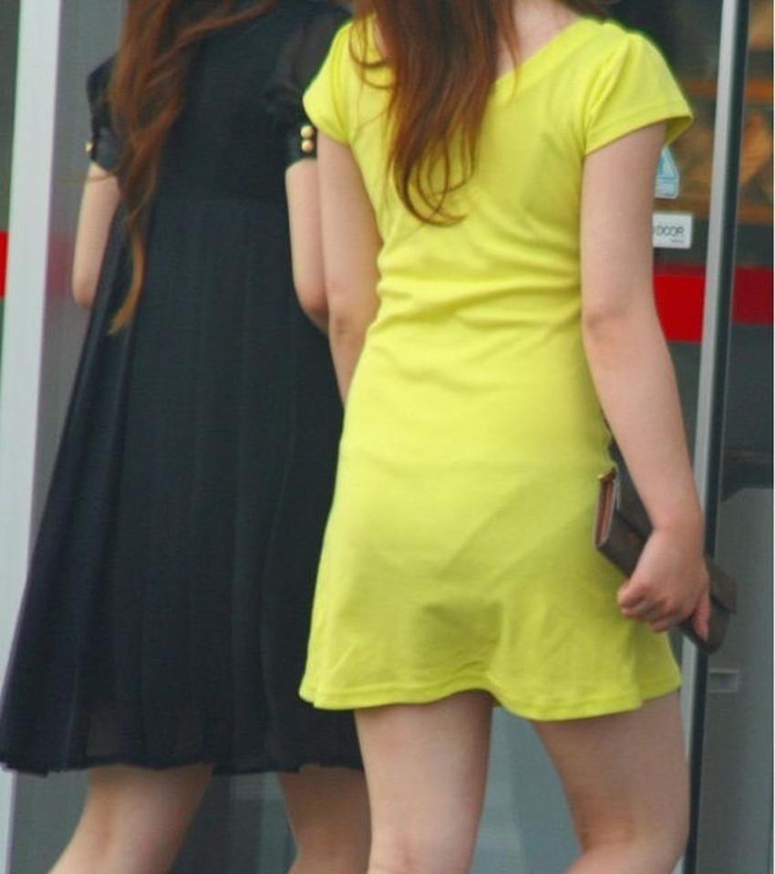 【ミニスカワンピエロ画像】ミニスカワンピ女子のパンチラを覗いたり服の中に手を突っ込み着衣セックスしてるミニスカワンピのエロ画像集!ww【80枚】 43