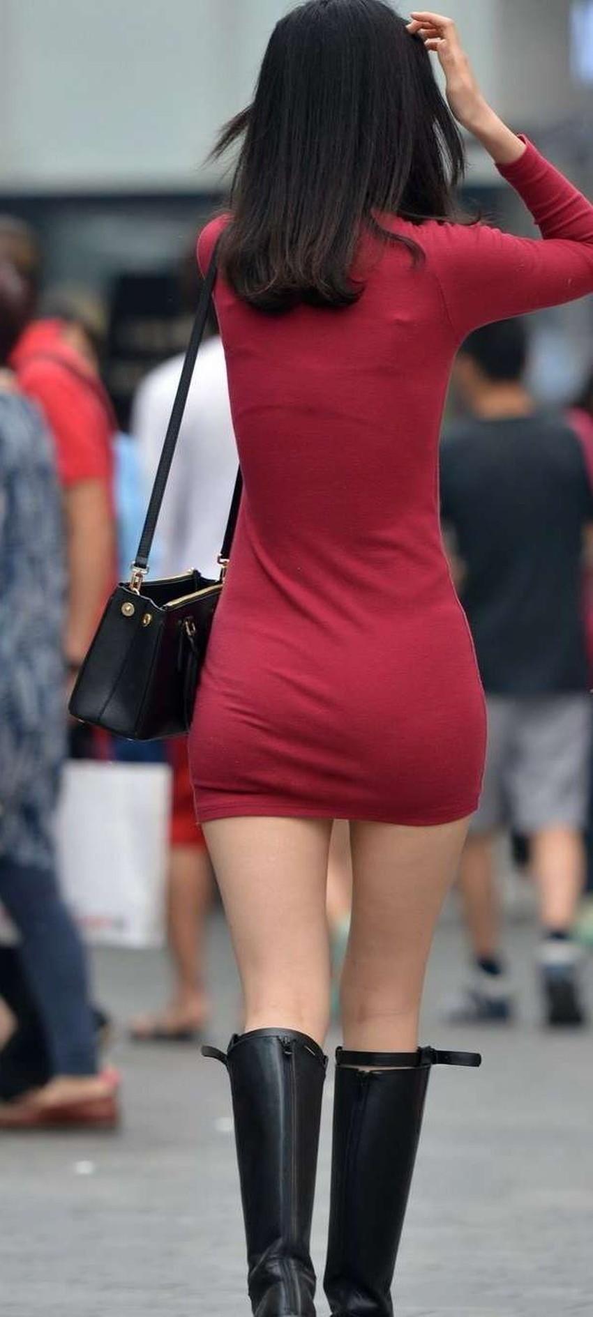 【ミニスカワンピエロ画像】ミニスカワンピ女子のパンチラを覗いたり服の中に手を突っ込み着衣セックスしてるミニスカワンピのエロ画像集!ww【80枚】 48