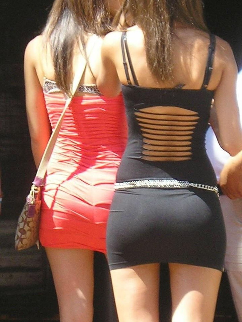 【ミニスカワンピエロ画像】ミニスカワンピ女子のパンチラを覗いたり服の中に手を突っ込み着衣セックスしてるミニスカワンピのエロ画像集!ww【80枚】 50