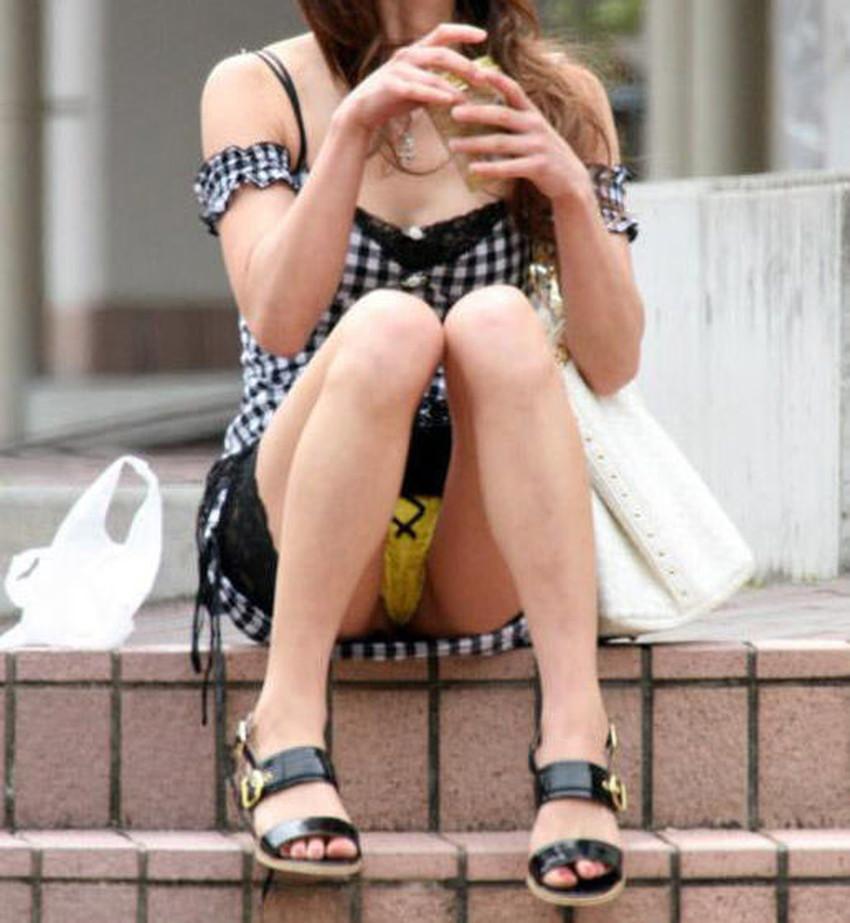 【ミニスカワンピエロ画像】ミニスカワンピ女子のパンチラを覗いたり服の中に手を突っ込み着衣セックスしてるミニスカワンピのエロ画像集!ww【80枚】 61