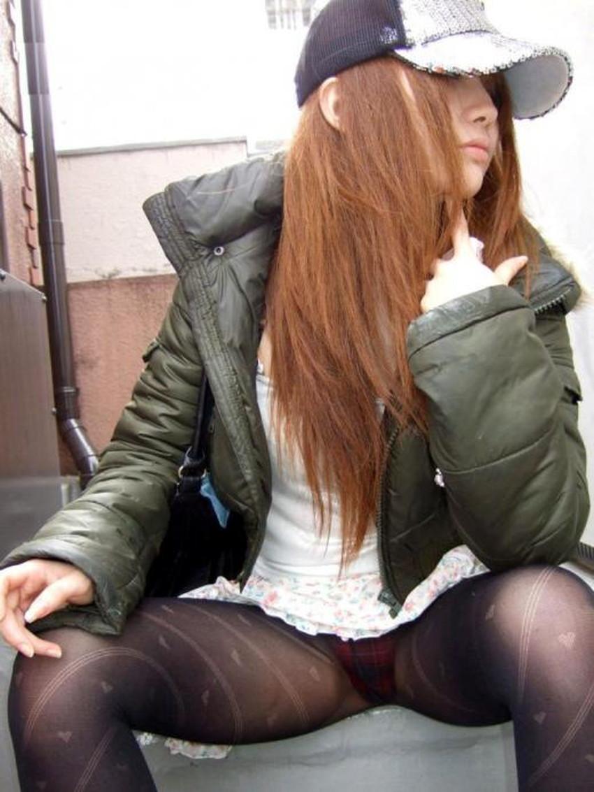 【柄タイツエロ画像】美脚をセクシーに際立てくれる模様入のタイツやパンストで誘惑してくれてる柄タイツのエロ画像集!ww【80枚】 67