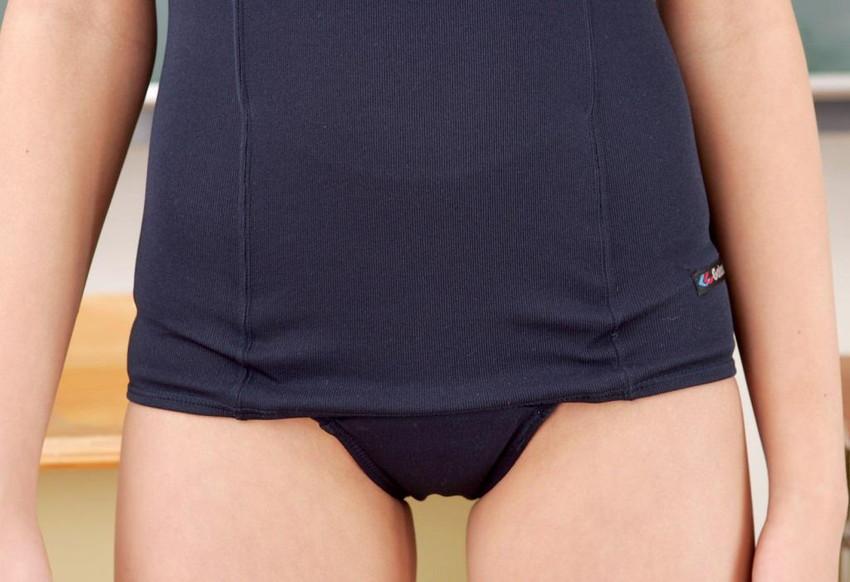 【旧式スクール水着エロ画像】オールドスタイルなすく水の胸ポチや股間の切り返し部分から見えるまんすじが堪らない旧式スクール水着のエロ画像集!ww【80枚】 45