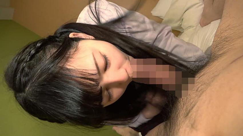 【エロ画像】上目遣いでフェラする姿がキュン過ぎる萌系美少女のエロ画像集!【80枚】 10