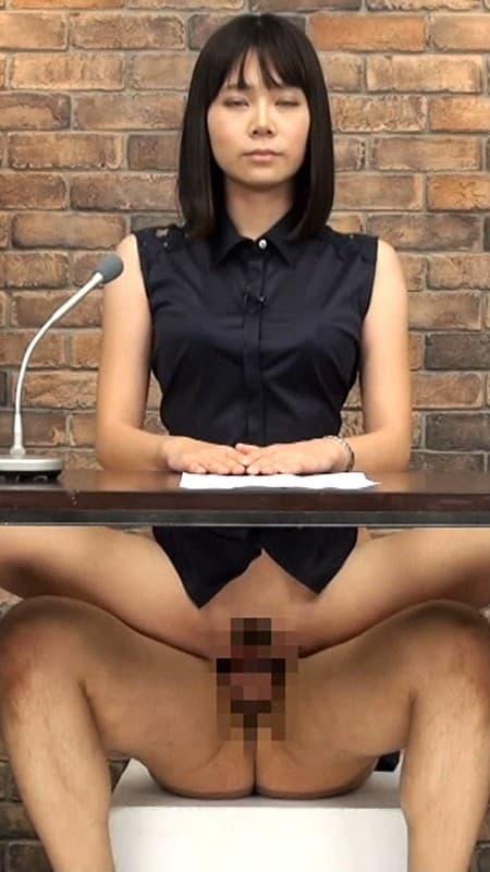【アナウンサーエロ画像】清楚でカワイイ女子アナウンサーを放送中に寝取って輪姦調教!アヘ顔を全国に晒しちゃったアナウンサーのエロ画像集ww【80枚】 20