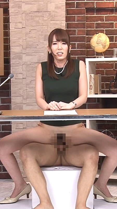 【アナウンサーエロ画像】清楚でカワイイ女子アナウンサーを放送中に寝取って輪姦調教!アヘ顔を全国に晒しちゃったアナウンサーのエロ画像集ww【80枚】 43