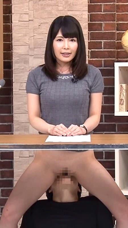【アナウンサーエロ画像】清楚でカワイイ女子アナウンサーを放送中に寝取って輪姦調教!アヘ顔を全国に晒しちゃったアナウンサーのエロ画像集ww【80枚】 54