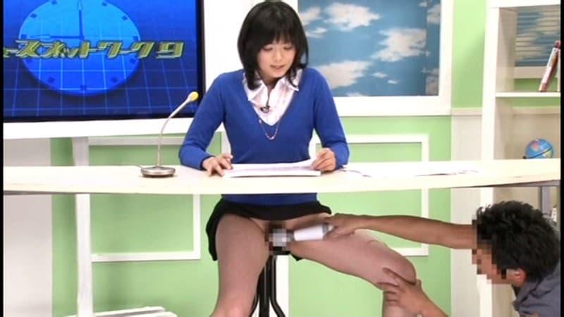 【アナウンサーエロ画像】清楚でカワイイ女子アナウンサーを放送中に寝取って輪姦調教!アヘ顔を全国に晒しちゃったアナウンサーのエロ画像集ww【80枚】 63