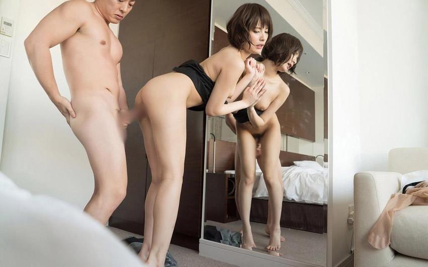【スーツOLエロ画像】美人OLがお昼休みや外回り中にスーツのまま枕営業セックスしているスーツOLのエロ画像集!【80枚】 20