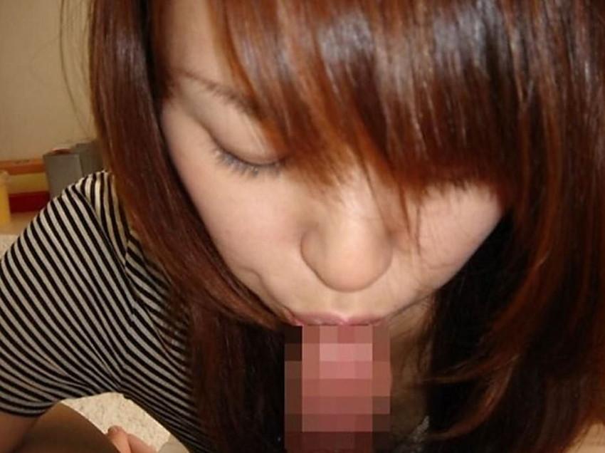 【亀頭キスエロ画像】女の子がフェラに入る前に亀頭にチュっとキスする瞬間が堪らない亀頭キスのエロ画像集!【80枚】 54