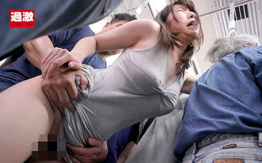 【ロングワンピエロ画像】ロングワンピを捲り上げて着衣セックスをしたり、ワンピ上から手マンやバイブ責めをしてお漏らし調教してるロングワンピのエロ画像集!【80枚】 34