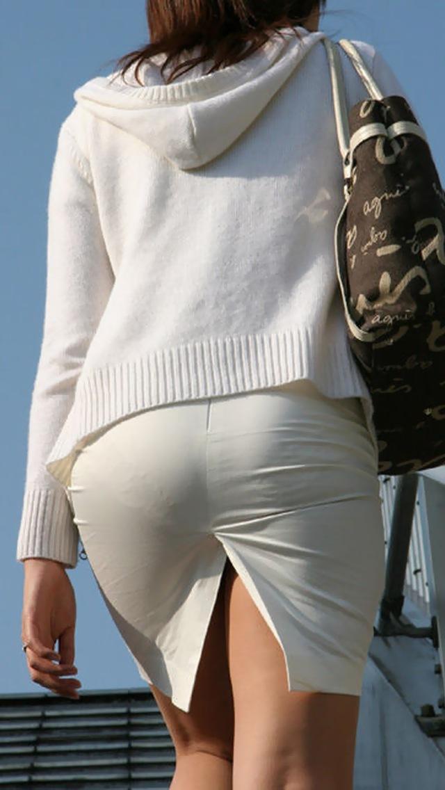 【タイトスカートエロ画像】OLや女教師、人妻たちのむっちりデカ尻を包み込み、パンティーラインが見え隠れするタイトスカートのエロ画像集!!【80枚】 03
