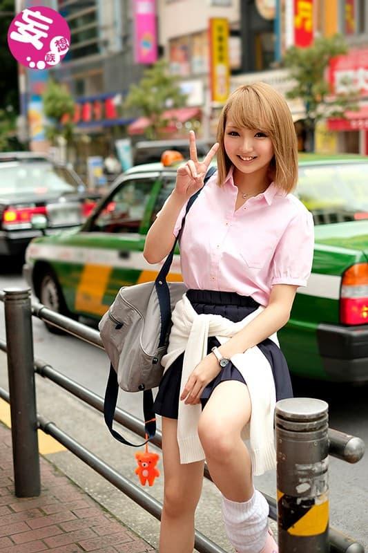 【金髪JKエロ画像】ビッチ日本代表の金髪JKのフェラテクはハンパないって‥!!ヤリマン過ぎる金髪JKのエロ画像集ww【80枚】 26