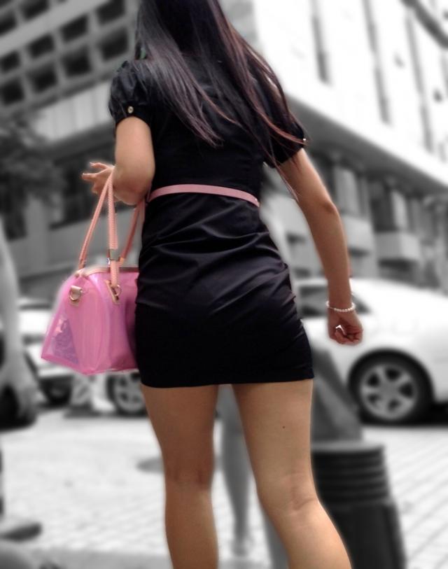 【ミニスカワンピエロ画像】カワイ過ぎるミニスカワンピ娘をパンチラ盗撮したり着衣セックスで寝取っちゃったミニスカワンピのエロ画像集ww【80枚】 09