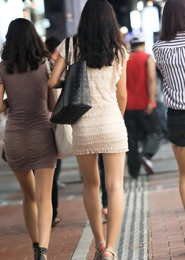 【ミニスカワンピエロ画像】カワイ過ぎるミニスカワンピ娘をパンチラ盗撮したり着衣セックスで寝取っちゃったミニスカワンピのエロ画像集ww【80枚】 20