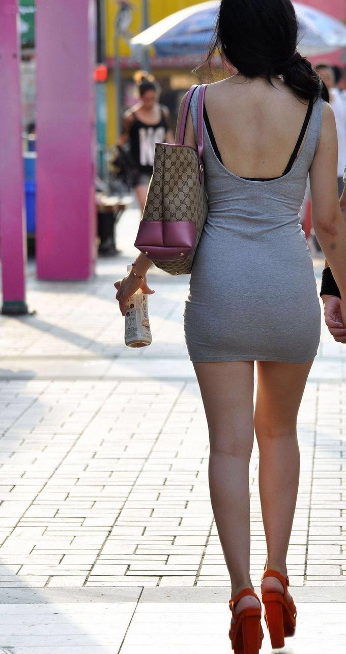 【ミニスカワンピエロ画像】カワイ過ぎるミニスカワンピ娘をパンチラ盗撮したり着衣セックスで寝取っちゃったミニスカワンピのエロ画像集ww【80枚】 26