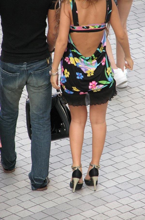 【ミニスカワンピエロ画像】カワイ過ぎるミニスカワンピ娘をパンチラ盗撮したり着衣セックスで寝取っちゃったミニスカワンピのエロ画像集ww【80枚】 49