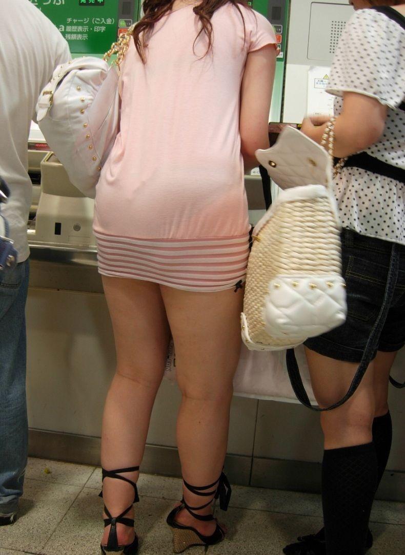 【ミニスカワンピエロ画像】カワイ過ぎるミニスカワンピ娘をパンチラ盗撮したり着衣セックスで寝取っちゃったミニスカワンピのエロ画像集ww【80枚】 61