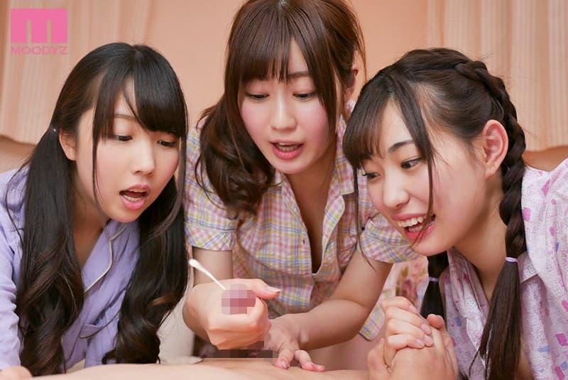 【パジャマパーティーエロ画像】パジャマパーティー中の妹の友達と乱交したりテンション上がって美少女同士でレズプレイしてるパジャマパーティーのエロ画像集ww【80枚】 12