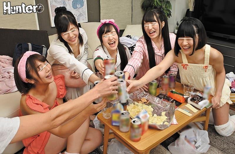 【パジャマパーティーエロ画像】パジャマパーティー中の妹の友達と乱交したりテンション上がって美少女同士でレズプレイしてるパジャマパーティーのエロ画像集ww【80枚】 29