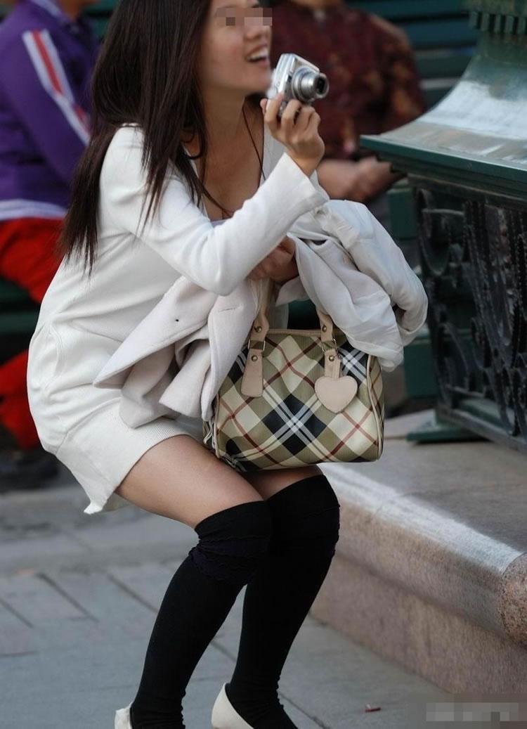 【ニットワンピエロ画像】ボディラインがはっきり分かるニットワンピで胸チラやパンティーラインを見せつけてくれるニットワンピのエロ画像集!w【80枚】 48