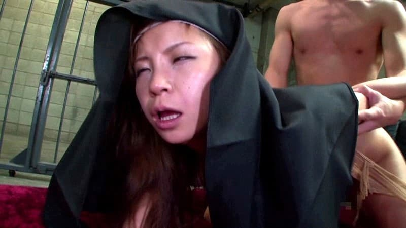 【シスターエロ画像】修道女は処女のハズなのにイラマチオされて輪姦調教されちゃってるシスターのエロ画像集ww【80枚】 16