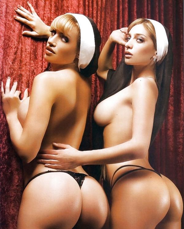 【シスターエロ画像】修道女は処女のハズなのにイラマチオされて輪姦調教されちゃってるシスターのエロ画像集ww【80枚】 34