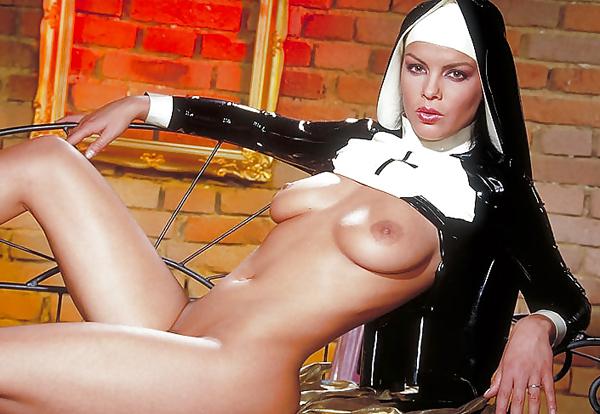 【シスターエロ画像】修道女は処女のハズなのにイラマチオされて輪姦調教されちゃってるシスターのエロ画像集ww【80枚】 35