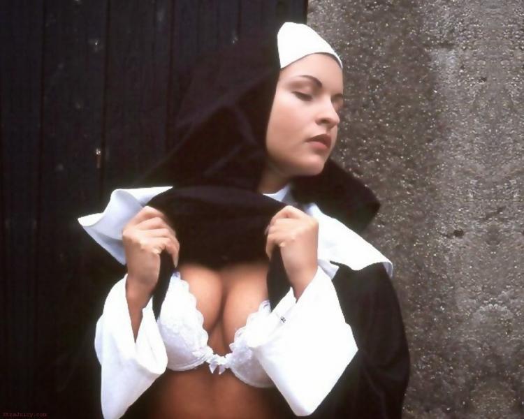 【シスターエロ画像】修道女は処女のハズなのにイラマチオされて輪姦調教されちゃってるシスターのエロ画像集ww【80枚】 36