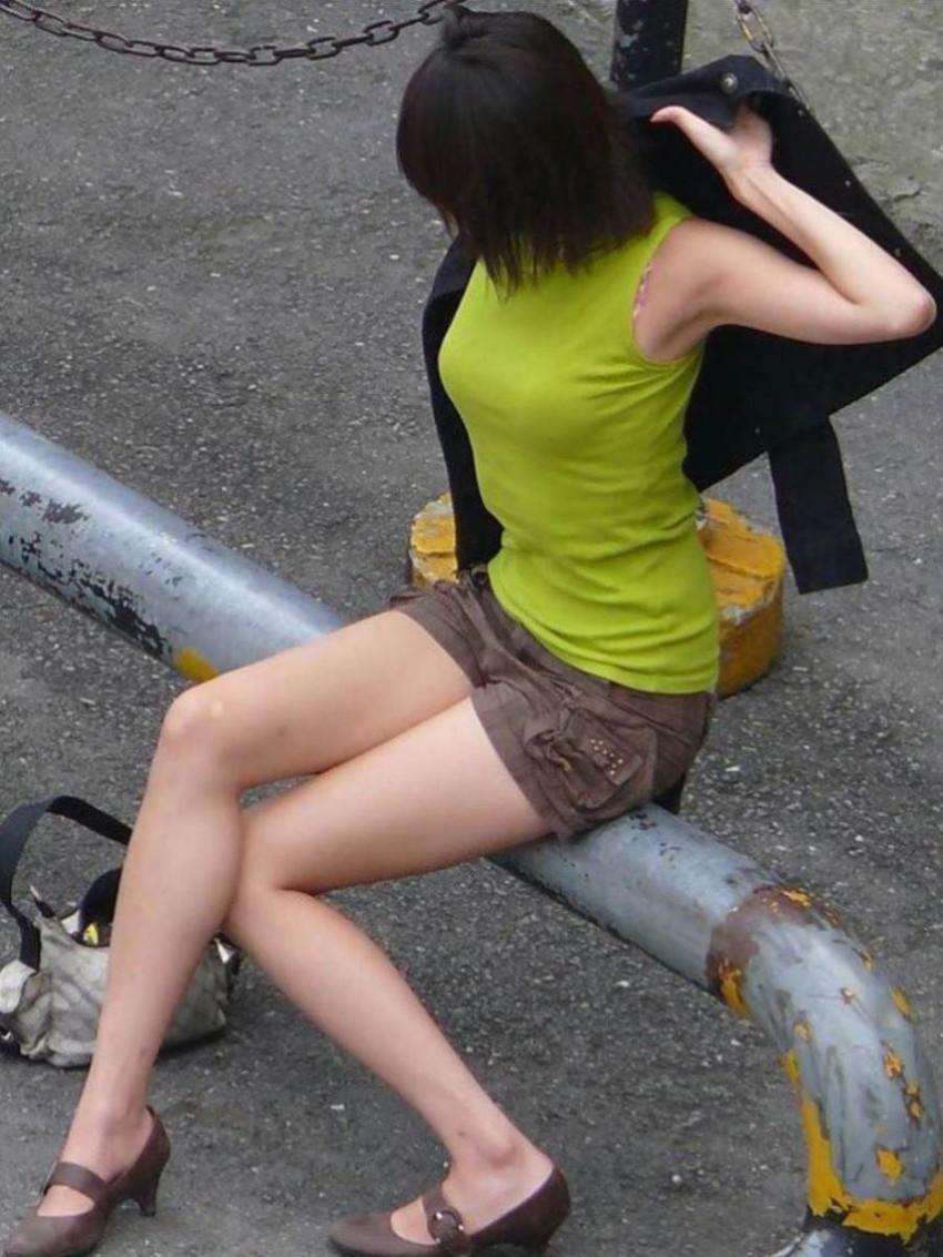 【ノースリーブエロ画像】横乳や腋の下を堪能しながら着衣セックスを堪能できるノースリーブ女子のエロ画像集!w【80枚】 04