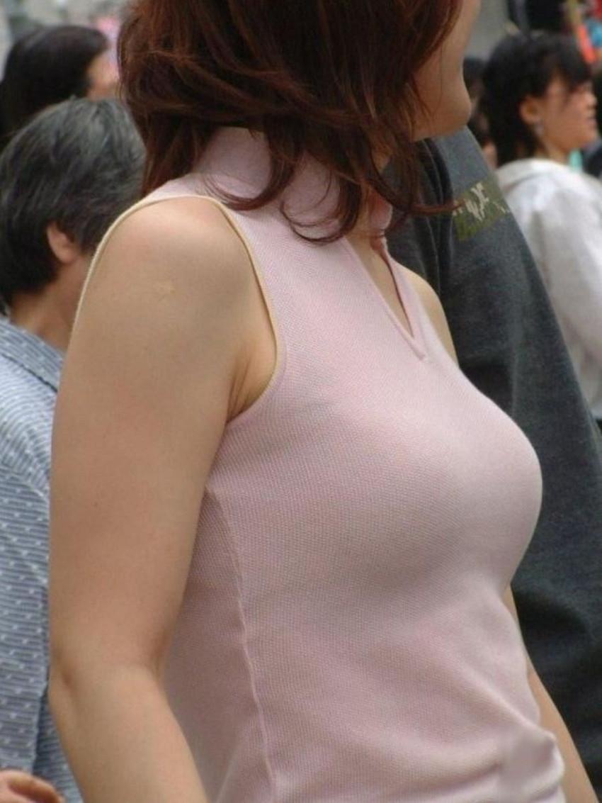 【ノースリーブエロ画像】横乳や腋の下を堪能しながら着衣セックスを堪能できるノースリーブ女子のエロ画像集!w【80枚】 50