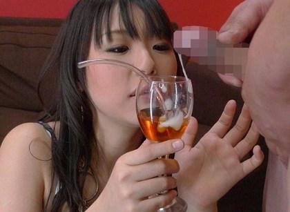 【食ザーエロ画像】精子大好き過ぎるビッチなロリ娘やお姉さんたちがザーメンを食べ物につけてごっくんしまくる食ザーエロ画像集!w【80枚】 51