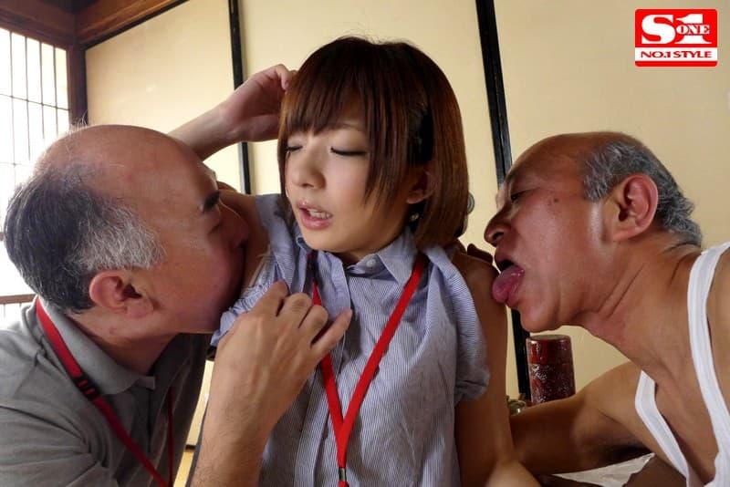【介護士エロ画像】むっちり巨乳の美人介護士に密着され爺さんが久々の勃起して寝取ってきちゃった介護士のエロ画像集!w【80枚】 30