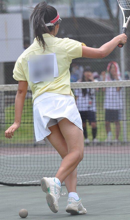 【アンスコエロ画像】テニスウェアにチアガール、ラクロス女子などの汗だくでムレムレのアンスコに顔面突っ込みたくなるアンスコエロ画像集!ww【80枚】 31