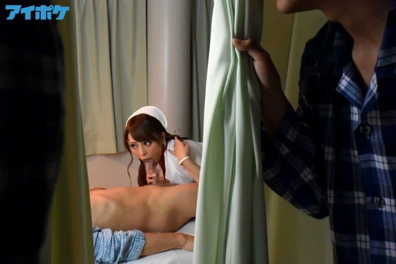 【ナースエロ画像】夜勤大好きビッチナースが病院内で白衣をめくってパンチラ誘惑したり患者にフェラして騎乗位挿入しちゃってるナースのエロ画像集ww【80枚】 11