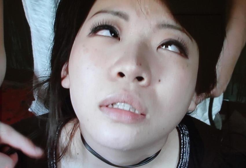【白目エロ画像】キレイな女の子たちが手マンや電マ調教、巨根をブチ込まれて白目を剥いてアクメしちゃってる白目のエロ画像集ww【80枚】 04