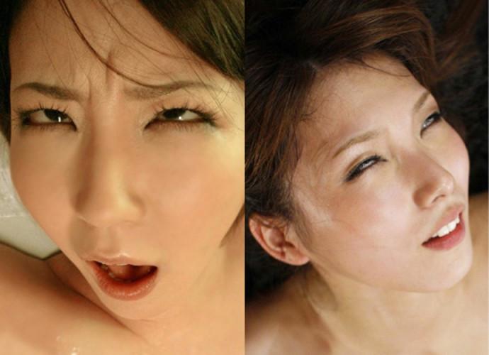 【白目エロ画像】キレイな女の子たちが手マンや電マ調教、巨根をブチ込まれて白目を剥いてアクメしちゃってる白目のエロ画像集ww【80枚】 38