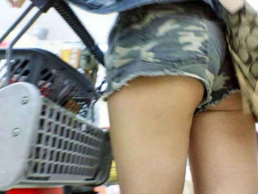 【ハミケツエロ画像】美尻のむっちりケツ肉がショートパンツや水着からハミ出てるハミケツエロ画像集!ww【80枚】 13