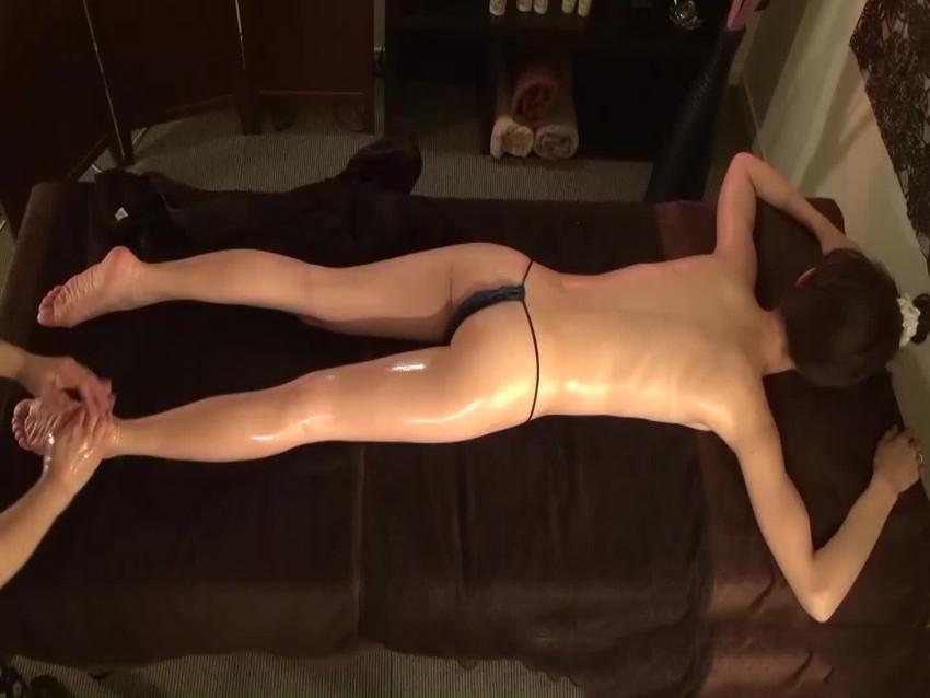 【お尻マッサージエロ画像】美尻なOLさんにローション塗ってセクハラエステで寝取りまくったお尻マッサージのエロ画像集!ww【80枚】 64