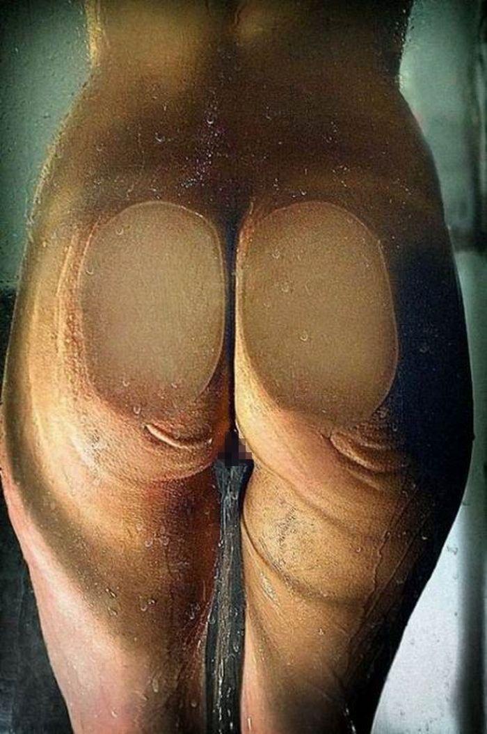 【ガラス押し付けエロ画像】変態痴女たちが巨乳やデカ尻、さらにおまんこをガラスに押し付けぶちゅっと潰してエロ過ぎることになってるガラス押し付けのエロ画像集!w【80枚】 57