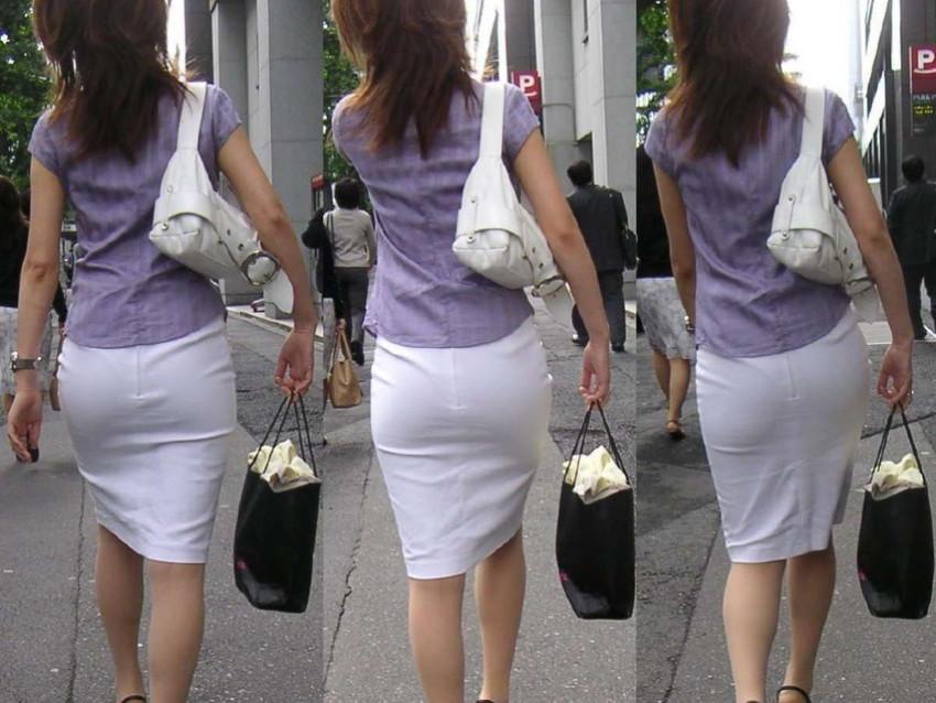 【パンティーラインエロ画像】素人美女のピタパンやタイトスカートから見えるパンティーラインを盗撮!美尻に顔面突っ込みたくなるパンティーラインのエロ画像集!ww【80枚】 03