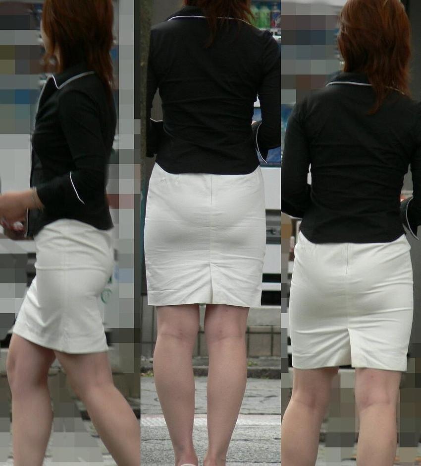【パンティーラインエロ画像】素人美女のピタパンやタイトスカートから見えるパンティーラインを盗撮!美尻に顔面突っ込みたくなるパンティーラインのエロ画像集!ww【80枚】 51