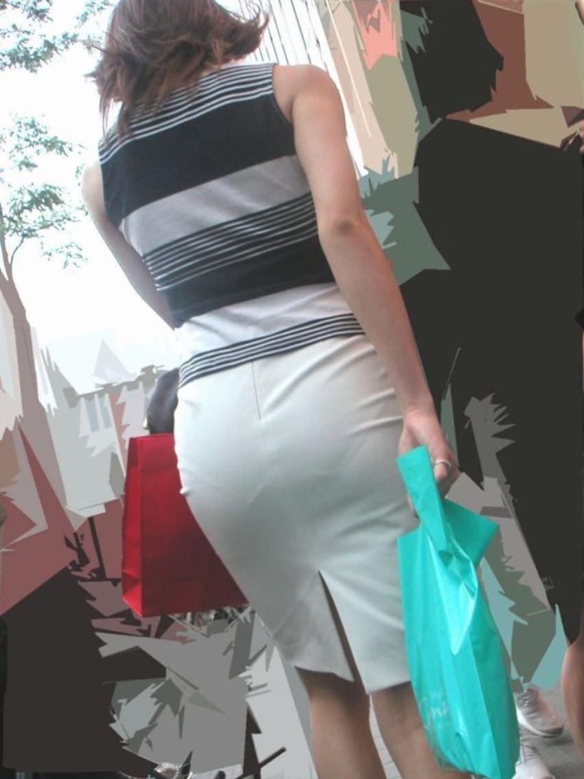 【パンティーラインエロ画像】素人美女のピタパンやタイトスカートから見えるパンティーラインを盗撮!美尻に顔面突っ込みたくなるパンティーラインのエロ画像集!ww【80枚】 65