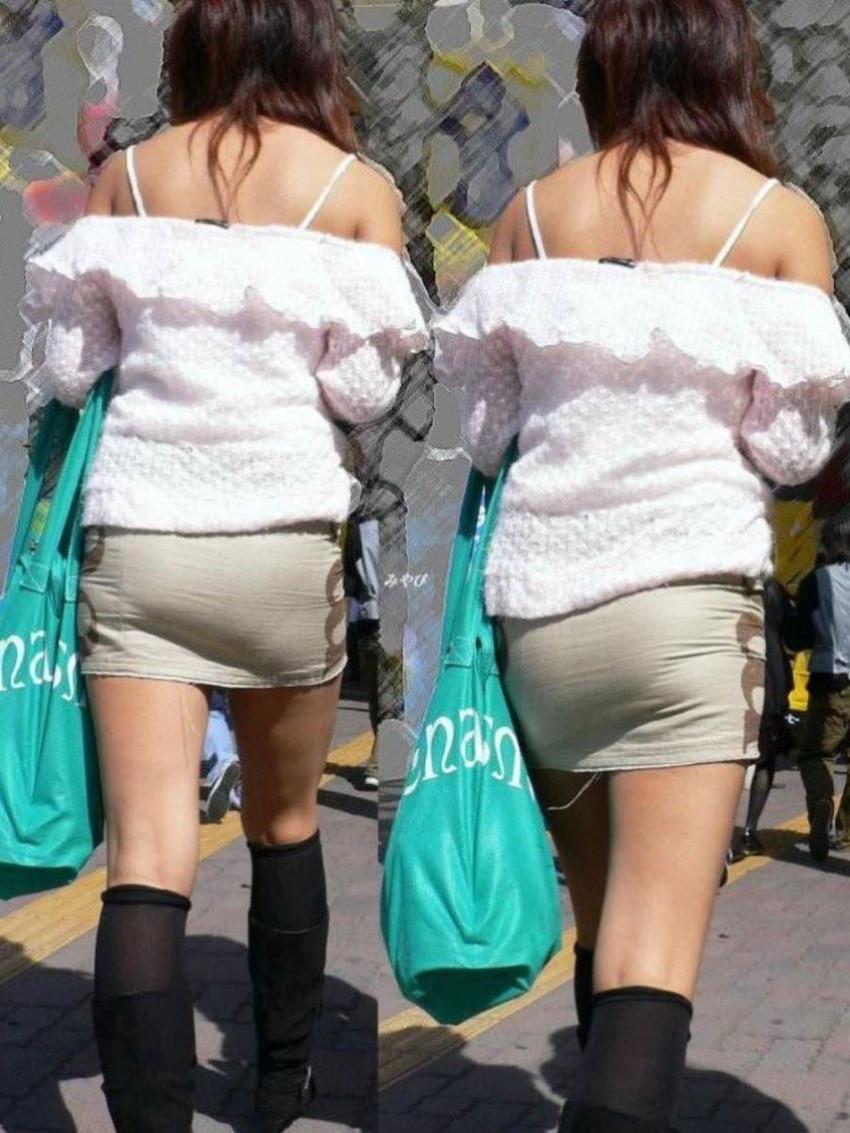【パンティーラインエロ画像】素人美女のピタパンやタイトスカートから見えるパンティーラインを盗撮!美尻に顔面突っ込みたくなるパンティーラインのエロ画像集!ww【80枚】 75