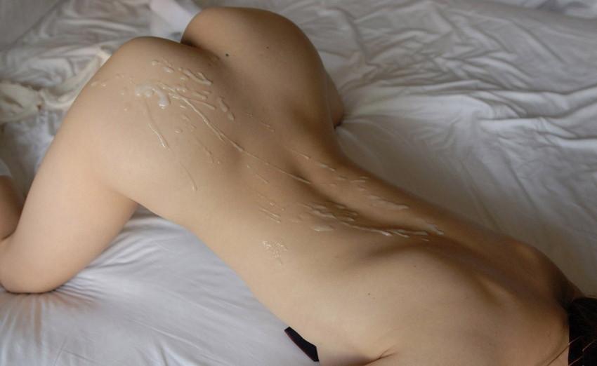 【尻射エロ画像】美尻娘にはバックでブチ込みザーメンを尻射!!スタイル抜群美女にピストンしてデカ尻にぶっかけたった尻射のエロ画像集w【80枚】 10